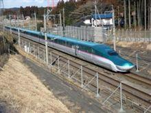 東北新幹線「はやぶさ」試乗会
