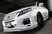 LEXUS RX270に450hヘッドライト移植取付け!