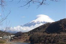 土曜日19日の富士山
