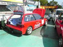 レース用シビック  EF9