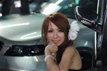 福岡カスタムカーショー2011のキャンペーンガール第2弾