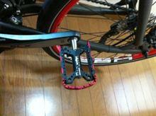 BMW M-Bikeのペダル交換