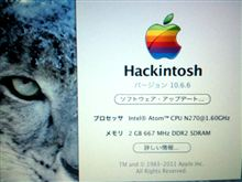 How to install Mac OSX Snow Leopard and upgrade to 10.6.6 on HP mini 2140