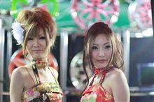 福岡カスタムカーショー2011のキャンペーンガール第3弾