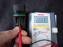 吸気温センサーの抵抗値