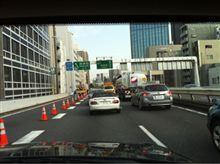 東京マラソンの影響で