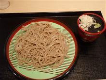 今日のブランチ・・南会津の蕎麦