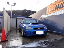 オイル交換と洗車を行いました。
