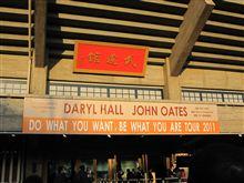 ホール&オーツ 武道館ライブ行ってきました♪