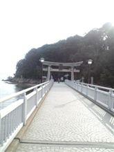 Sちゃんで妻と竹島にドライブへ