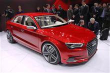 Audi A3 sedan concept