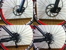 BMW M-Bikeのブレーキ変更