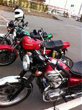 バイクツーリング。