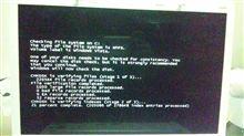 パソコン故障。。