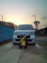 洗車してキレイになったよ~