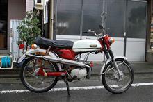 1968年製のバイクです