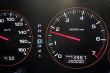 200,000kmを通過