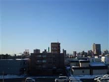 おはようございます、雪解けが進みそうな良い天気です