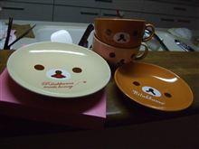 カップ・皿・カップ。そして皿(・X・)