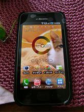 スマートフォンのgalaxy s 2号機目(汗)