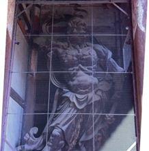 阪神・近鉄でぶらり奈良町へ(2011 0313)④ 木造金剛力士立像(国宝)