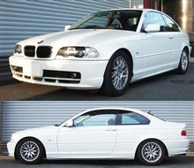 BMW E46クーペも完了 車高調 『 Best☆i 』 マッチング完了です