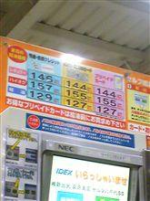 ガソリン↑↑↑→↓→