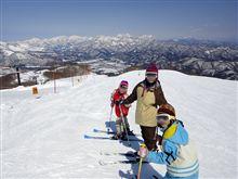 春スキーに行ってきました