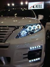 RX450hヘッドライトリングインストール(CCFLリング)