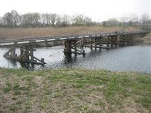 時代劇によく使われる橋のはずが・・