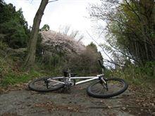 自転車に乗って、