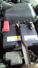 オイルとバッテリー交換