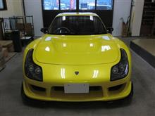 マツダ RX-7(FD3S)改造車、採寸と装着確認(完成)