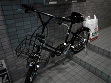 じょんたの自転車イジリ?