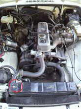1800cc OHV   馬力はきかないで。
