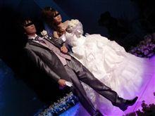 愛弟子の結婚式にて・・・おめでとう~♪
