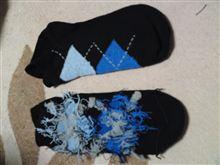 ユニクロ製靴下