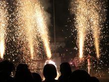 神明社のお祭りに