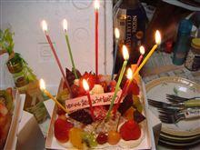 気持ちばかりですが。。。Happy Birthday♪