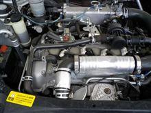 コペン エンジンルームの断熱材がはがれたから補修