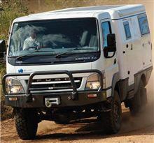 Mitsubishi Fuso Canter 4WD Earth Cruiser : Australia ・・・・