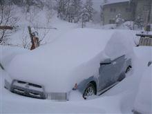 志賀高原-雪かき
