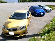 自動車雑誌 XaCAR主催 「レクサスFスポーツ比較試乗会」に参加してきました。