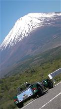 絶景の富士山を見ながらセブンでツーリング