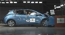 Nissan Leaf Euro NCAP でEV車で初の 5星!!!