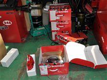 brembo GT kits 装着完了(^^