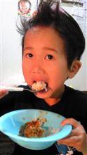 カレーを食べてカッ〜!!