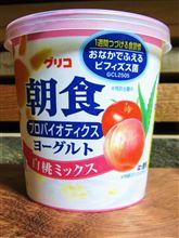 ヨーグルト【グリコ】白桃ミックス