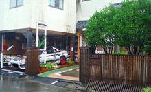 台風接近前の 伸さんの家ですよ、、。