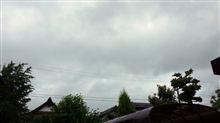 台風2号・・・